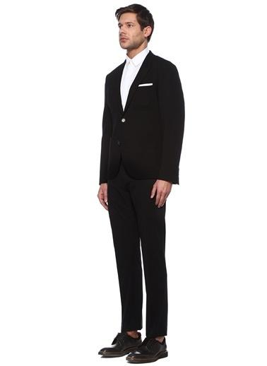 Neil Barrett Neil Barrett Slim Fit  Kırlangıç Yaka Ceket 101491872 Siyah